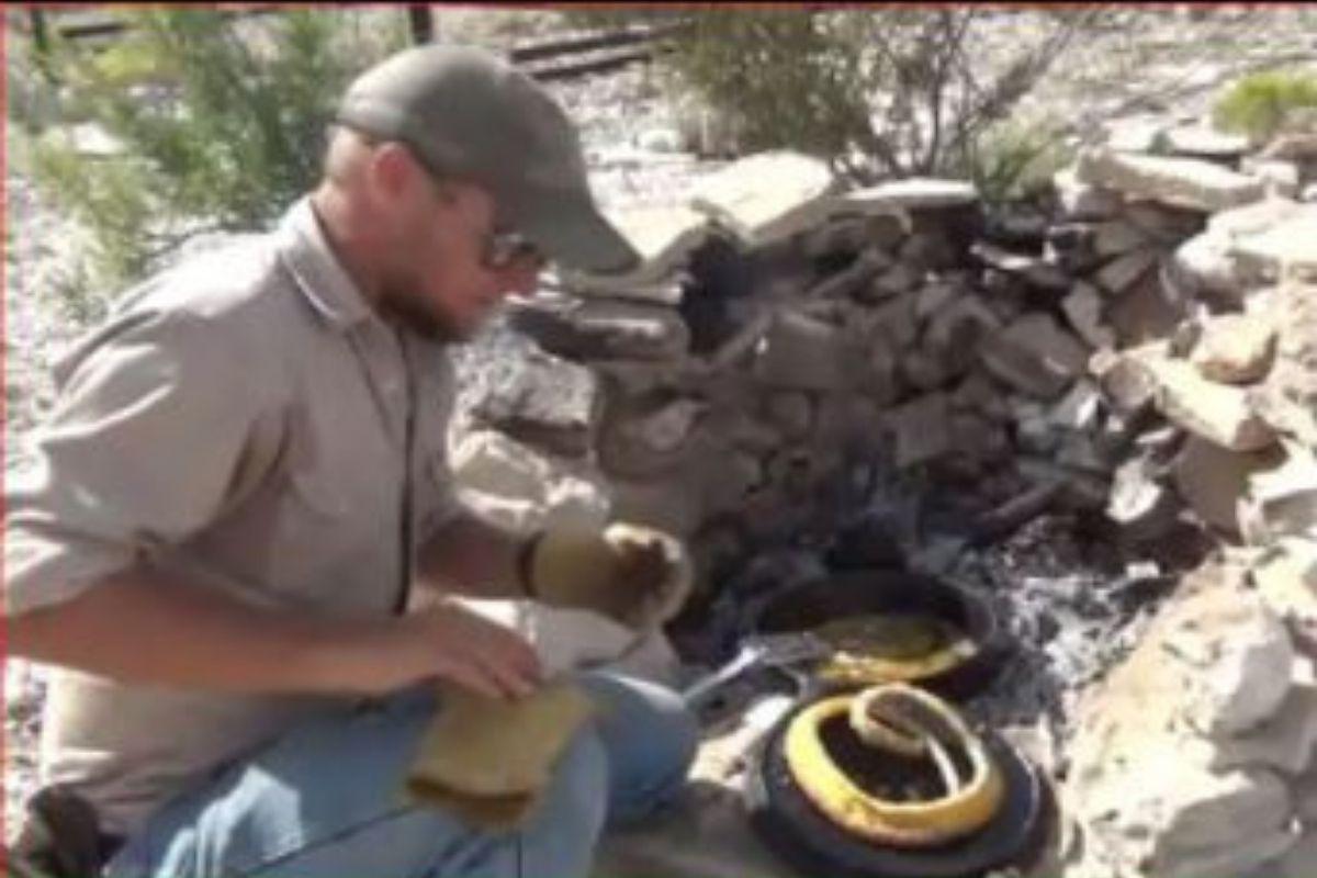 VIDEO: ਸੱਪ ਨੇ ਡੰਗਿਆ ਤਾਂ ਬਦਲਾ ਲੈਣ ਪੁੱਜ ਗਿਆ ਸ਼ਖਸ