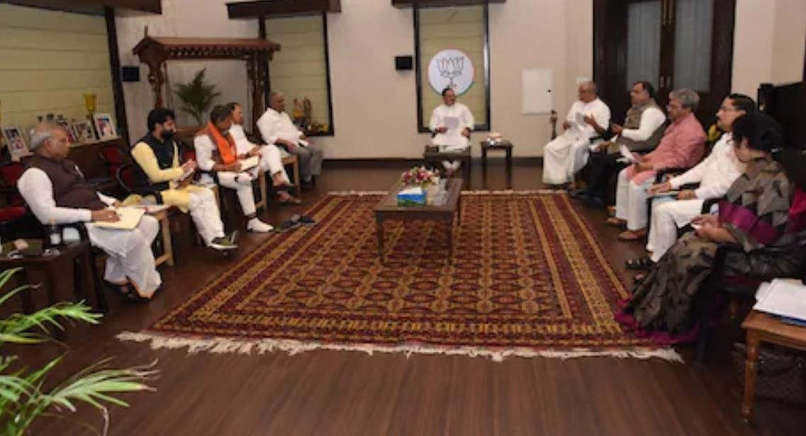 ਚੋਣ ਤਿਆਰੀਆਂ: PM ਮੋਦੀ ਵੱਲੋਂ ਪਾਰਟੀ ਆਗੂਆਂ ਨੂੰ ਲੋਕਾਂ ਦੇ ਦਿਲਾਂ 'ਚ ਜਗ੍ਹਾ ਬਣਾਉਣ ਦਾ ਸੁਨੇਹਾ