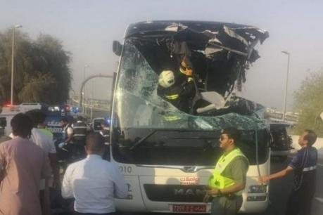 ਦੁਬਈ 'ਚ ਬੱਸ ਦੁਰਘਟਨਾ: ਹਾਦਸਾ 'ਚ ਮਾਰੇ ਗਏ 17 ਵਿਅਕਤੀਆਂ 'ਚੋਂ 8 ਭਾਰਤੀ, ਜਾਰੀ ਹੋਏ ਹੈਲਪਲਾਈਨ ਨੰਬਰ